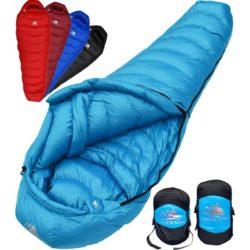 Hyke and Byke Quandary 15°F Ultralight 650fp Down Sleeping Bag